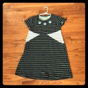 patterned short dress from zara